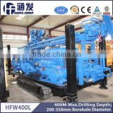 Air Reverse Circulation 400m Depth HFW400L Deep Water Well Drilling Rig Top Rotary Drilling Rig