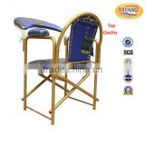 Foshan knock down muslim prayer chair,church chair for sale