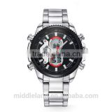 2015 Electronic watch movement Waterproof Business Watch Plastic Lcd Watch with Smart Movement