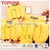 Banana shape factory price soft sofa plush toy pillow