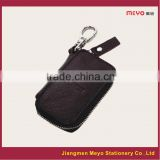 2015 New Commercial Promotional Customized Made Genuine Leather Zipper Key wallet MEYOKW136c