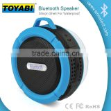 Wireless Bluetooth Waterproof Outdoor / Shower Speaker, with 5W Speaker/Suction Cup/Mic/Hands-Free Speakerphone