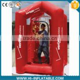 Customized promotional inflatable money blowing machine for advertisment                                                                         Quality Choice