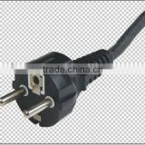 VDE standard 2 round pin earthing electrical plug