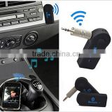 Top selling high quality 3.5mm Wireless Car Kit Handsfree Stereo USB Bluetooth Audio Music Receiver