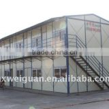 prefabricated cottage with light steel structure