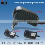 Wall mounted LED driver SAA CE approval AC DC adapter 12V 1A
