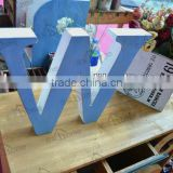 Living room rustic wholesale wood letters for home deco