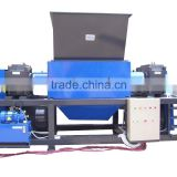 Guangzhou professional waste recycling machines manufacturer double shaft shredder waste tire shredder recycling line