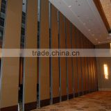 china manufacturer aluminium high quality folding wooden partition for ballrooms