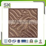 Interior Decorative 3D Effect Texture Wall Panel With Enamel Covering