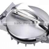 Silver Color Big Size 12 inch diameter pressing and cooking plates Tortilla Maker/Roti Maker/Chapati Maker