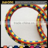 3mm decorative polyester sports braided elastic rubber cord                                                                         Quality Choice