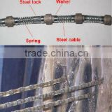 diamond wire saw for quarring and cutting shaping machines