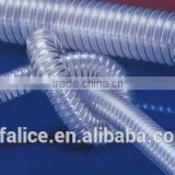 Top Quality Professional Factory Sale!! steel wire reinforced spring pvc hose pipe