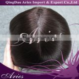 Free Shipping Wholesale Price Indian Human Hairpiece Bleached Knots French Lace Toupee On Sale