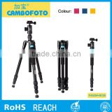 new products 2016 Cambofoto professional Tripod, Aluminum Projector Tripod Stand For digital camera dslr