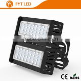 Aluminum housing and PC cover indoor lighting outdoor led flood light 100w for Outdoor car park