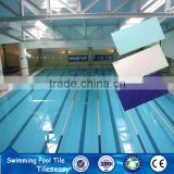 cobalt blue ceramic swimming pool wall tile foshan brand factory outlet
