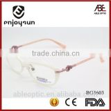 lady crystal rhinestone fashion design acetate hand made spectacles optical frames eyewear eyeglasses
