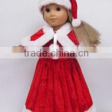 best selling beautiful 18 inch Santa Claus american girl doll clothes                                                                         Quality Choice