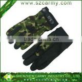 Outdoor military mittens ,camouflage gloves,quick drying anti-slip gloves