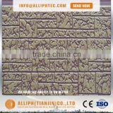 Decorative insulated exterior embossed metal sandwich wall panel                                                                                                         Supplier's Choice