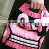 2014 handmade fashion ladies bags crochet knitted owl bags