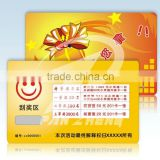 Customized scratch card printing lottery Telecom scratch calling card