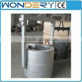 ladle baker for electric, gas fried or oil fired aluminum scrap melting furnace