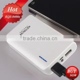 Four battery indicator 8400mAh battery portable mobile power bank charge smart power bank
