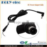 Right Angle For Samsung Adapter 40W 19V 2.1A Laptop AC Power Charger MINI DC Power Cable 5.5*3.0mm