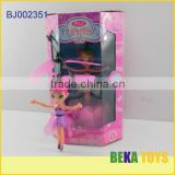 Kids toy/mini flying fairy doll/pink musical doll