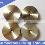High quality polycrystalline diamond wire drawing dies tools for vehicl silver, copper, brass, aluminum, stainless steel wire