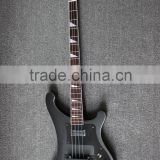4 string neck through body electric bass guitar