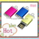 Plastic color Mini bulk U disk and 1gb/2gb/4gb/8gb USB Flash drives wholesale cheap custom logo
