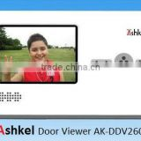 hot selling 2.8 inch LCD Door Viewer AK-DDV-260 video door viewer electronic door viewer