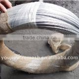 Electro Galvanized Iron Wire(plastic+hessian cloth)