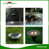 Solar Powered 3Led Waterproof Buried Light Solar Outdoor Lighting Decorative Garden Meadow Solar Lights