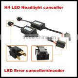 H4 High/Low Beam LED Headlight Warning Error Free Canbus Canceller Decoder Anti-Hyper Flashing Blinking H4 LED Headlight Decoder