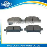 High quality and good price car auto parts Front brake pad 04465-12592 for TOYOTA