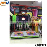 2016 New coin operated dancing vedio game machine redemption amusement electronic arcade game machine for sale