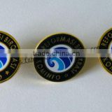 custom cheapest zinc alloy pin button badge for promption/party/meeting