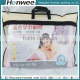 hot selling new style clear vinyl pvc plastic pillow carrier bag                                                                         Quality Choice