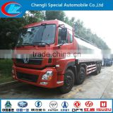 Hot sale big milk tank truck 8X4 Fresh milk transport truck good quality stainless steel milk tank truck