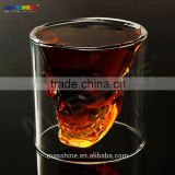 Double Wall Skull Skeleton Whisky Wine Glass Cup Beer Cup 80ml
