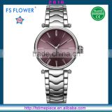 FS FLOWER - Fashion Youth Watches Japan Movt Quartz Watch 3atm Water Resistant Stainless Steel
