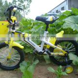 12inch yellow colour good design children /kids bicycles/bikes HXL brand toys for girls and boys