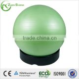 ZHENSHENG exercise pilates yoga ball with base