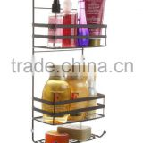 Metal Mesh Shower Caddy for Bathroom and tension corner pole caddy